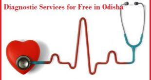 Diagnostic services for free odisha