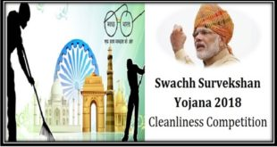 Swachh Survekshan 2018 Cleanliness Competition Result