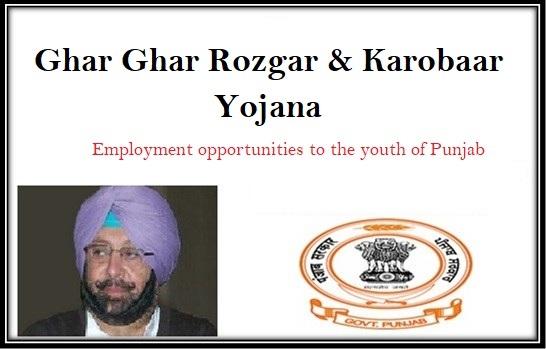 Ghar-Ghar-Naukri-Yojana-2018-Punjab-Rozgar-Mela-Job-Registration