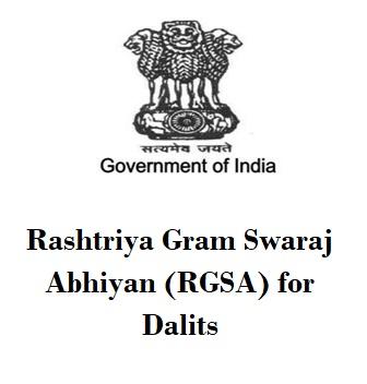 Rashtriya-Gram-Swaraj-Abhiyan-RGSA-for-Dalits