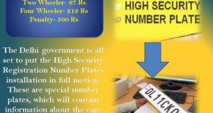 High Security Registration Number Plates for Car Owners in Delhi