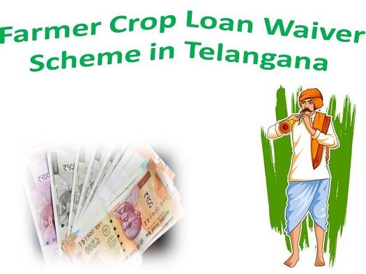 Farmer Crop Loan Waiver Scheme in Telangana