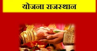 Rajasthan Inter - Caste Marriage Incentive Scheme