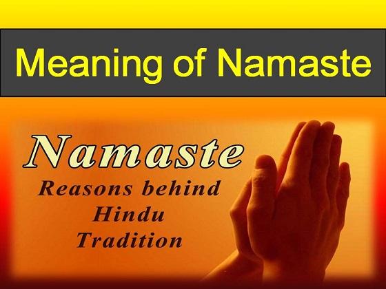 Namaste meaning hindi origin benefits importance