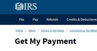 Stimulus Payment Status Check