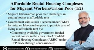 Affordable Rental Housing scheme