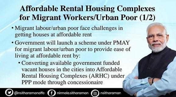 Affordable Rental Housing scheme