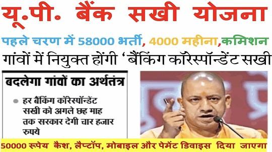 bank sakhi up yojana bc hindi