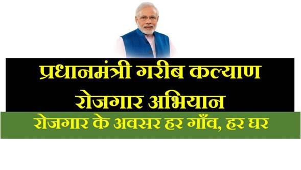 PM गरीब कल्याण रोजगार अभियान : 125 दिन ...